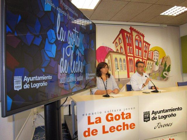 Presentación actividades Gota de Leche en septiembre