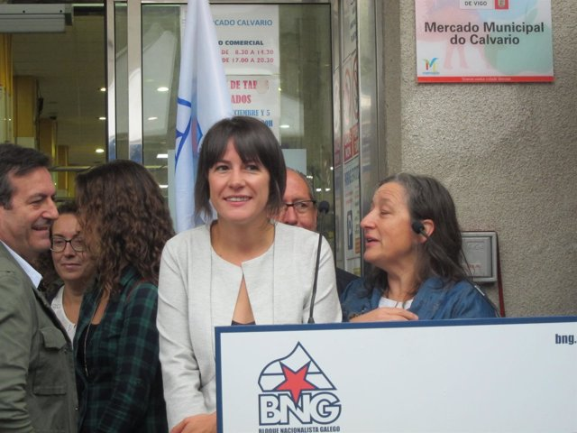 Ana Pontón sobre investidura Mariano Rajoy
