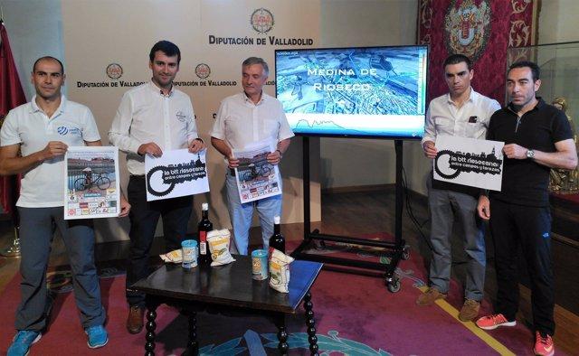 Presentación III Triatlón Desafío Castilla y León Canal de Castilla de Rioseco