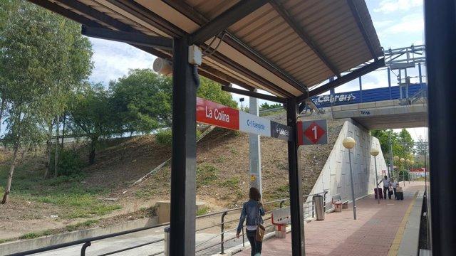 Estación de Cercanías La Colina, Torremolinos, Málaga