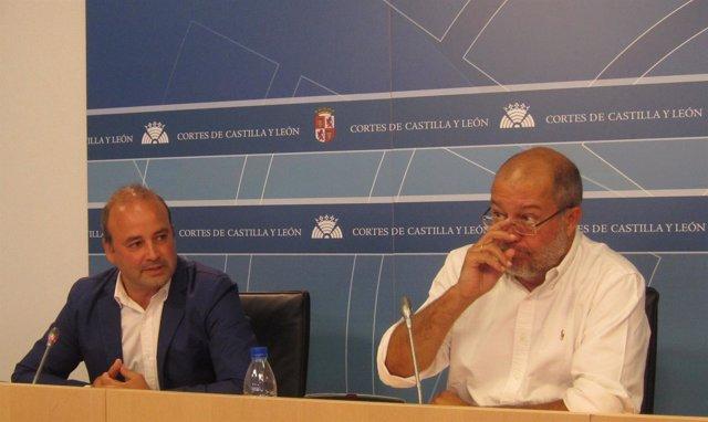 David Castaños y Francisco Igea, de Ciudadanos