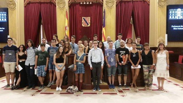 Foto de los participantes en la escuela de verano de la Canae