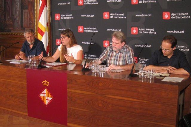 Janet Sanz, Ton Salvadó, Salvador Rueda y Jaime Batlle