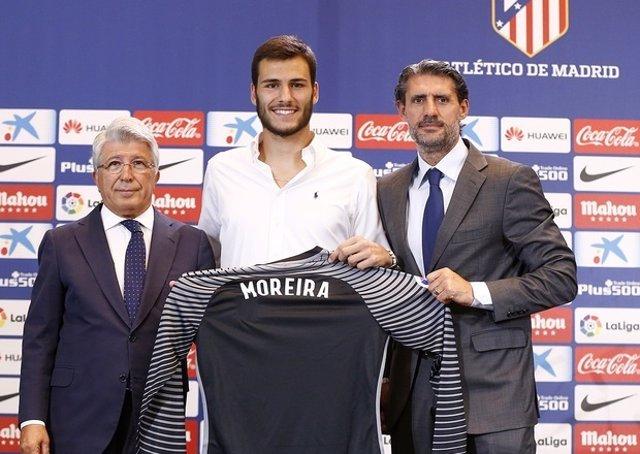 André Moreira, presentado con el Atlético de Madrid