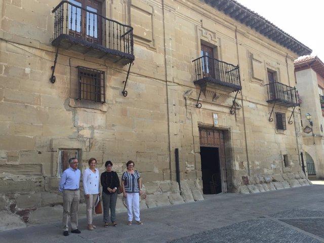 Convenio rehabilitación edificio Corregimiento Santo Domingo
