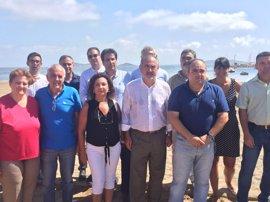 El PSOE planifica una batería de medidas para la regeneración del Mar Menor