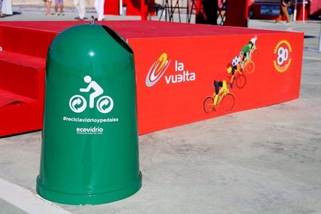 Ecovidrio colabora con la Vuelta a España