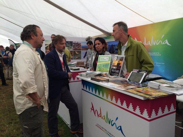 Liderazgo del turismo andaluz en en la Feria Internancional de Ruthland