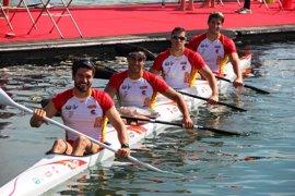 El K-4 español disputará la final de los 1.000 metros