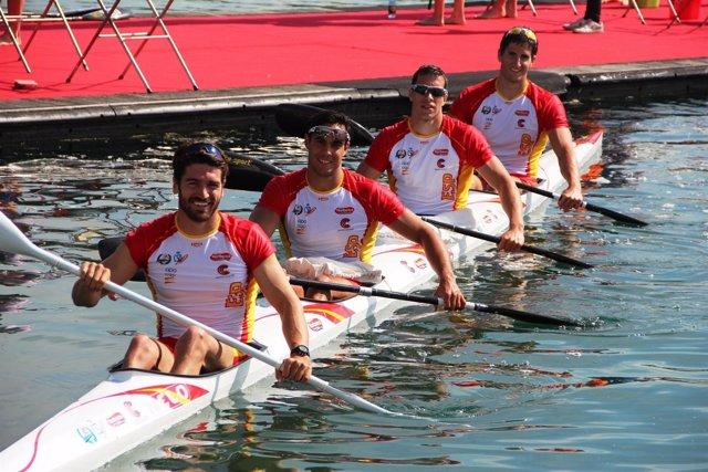 El K4 español de los JJOO de Río