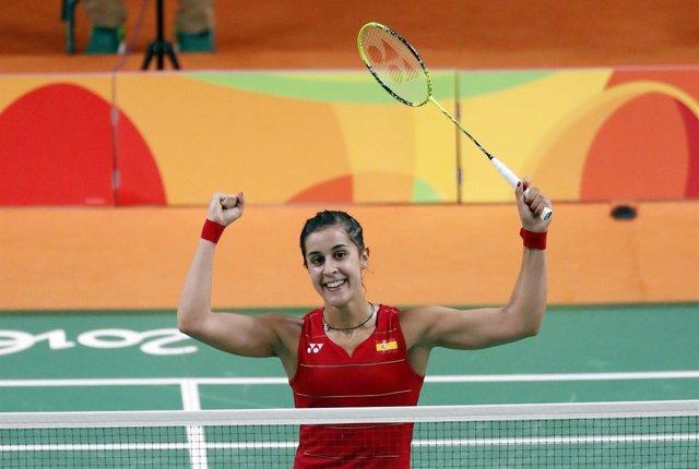 Carolina Marín en los Juegos Olímpicos