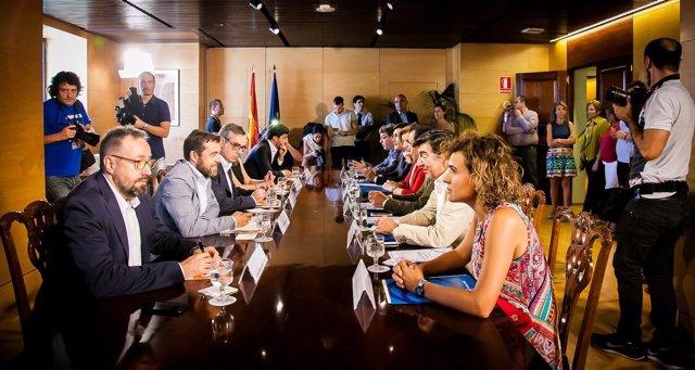 Negociación de PP y Ciudadanos