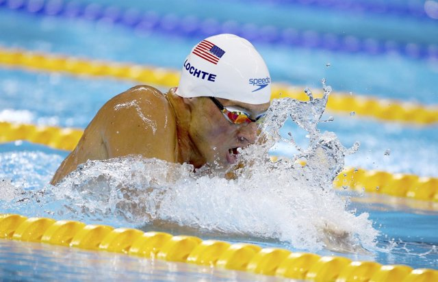 El nadador estadounidense Ryan Lochte