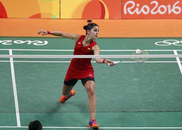 Carolina Marín en los Juegos Olímpicos de Río