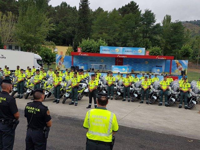 Guardia Civil Vuelta a España