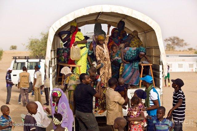 Desplazados internos por Boko Haram en Diffa (Níger)