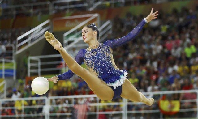 Carolina Rodríguez gimnasia rítmica Juegos Olímpicos Río