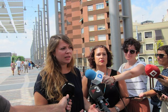 Janet Sanz y Laura Pérez