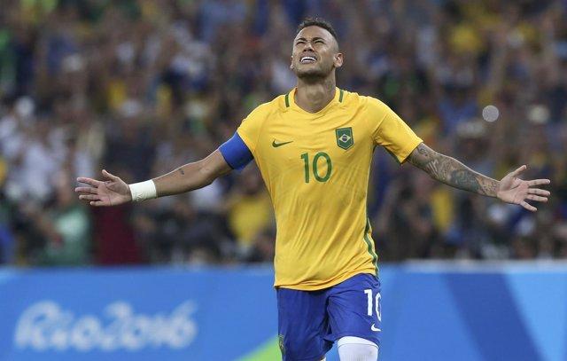 Neymar dirige a Brasil al oro olímpico
