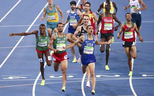 Centrowitz gana los 1.500 de Río 2016 con Bustos séptimo
