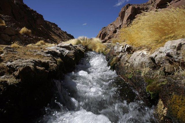 Río Silala, motivo de disputa entre Bolivia y Chile