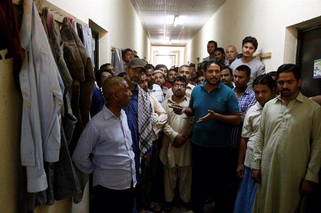 Trabajadores extranjeros en Arabia Saudí
