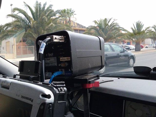Radar de la Policía Local