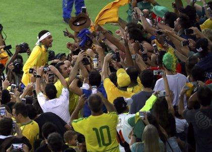 En imágenes: La celebración de Brasil tras ganar su primer oro olímpico en Maracaná