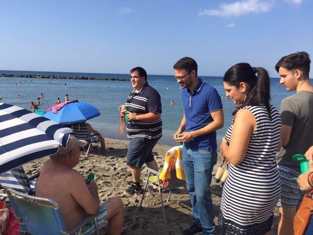 JSA presenta en Almería la campaña 'Cuida tu playa'
