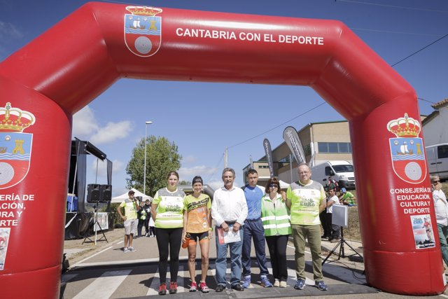 Revilla en el Trail Pantano del Ebro