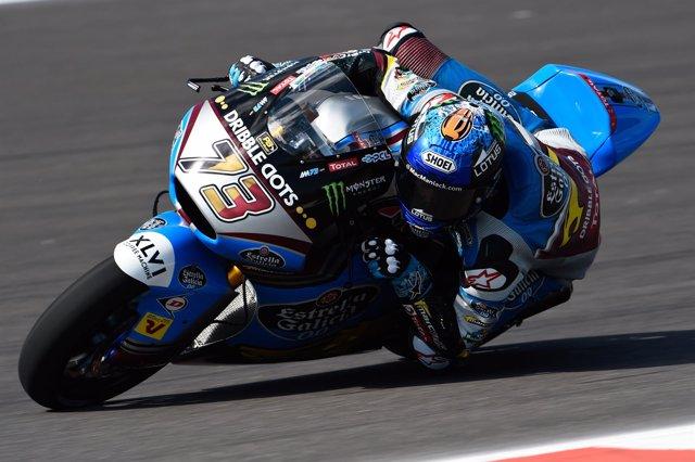 Álex Márquez en el Gran Premio de Argentina