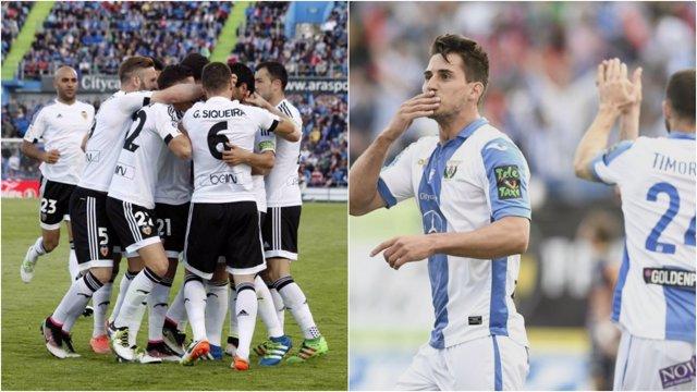 El Valencia y el Lega se estrenan ante Las Palmas y Celta