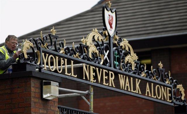 Estadio del Liverpool, Anfield