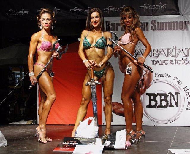 Ganadoras Barbarian Nutrition Summer Muscle Festival