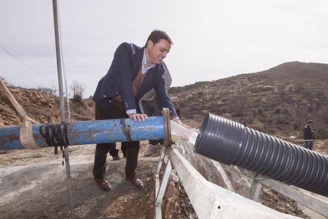 Obras en Sierro para garantizar el abastecimiento de agua en Sierro