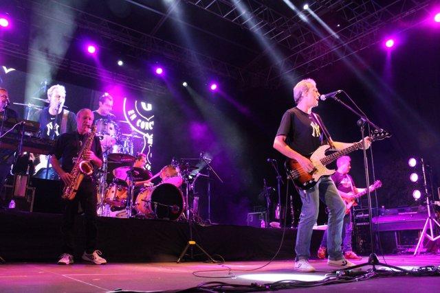 Actuación de Hombres G en el Iberia Festival de Benidorm