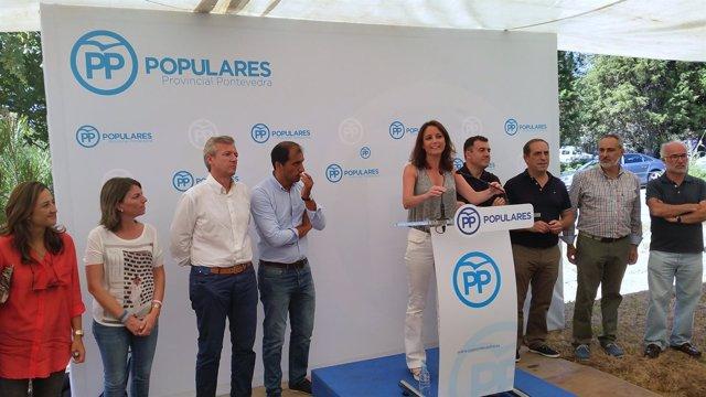 Andrea Levy y Alfonso Rueda
