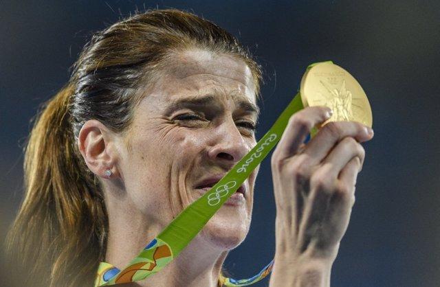 Ruth Beitia, campeona olímpica de salto de altura en Río 2016
