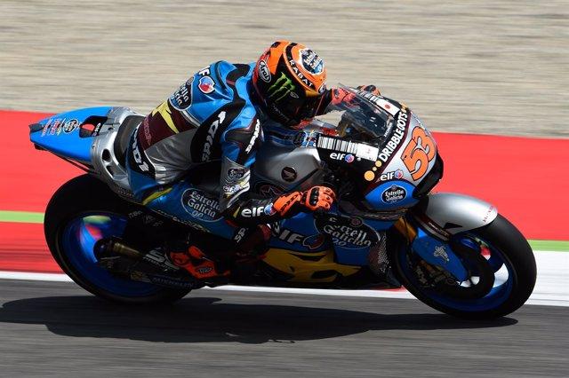 Tito Rabat en el Gran Premio de Italia en Mugello