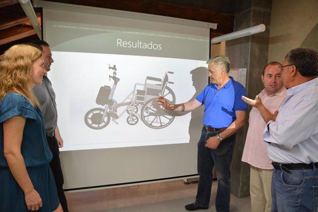 UPCT/Motorizan Una Silla De Ruedas Para Abaratar Los Costes Y Que Los Parapléjic