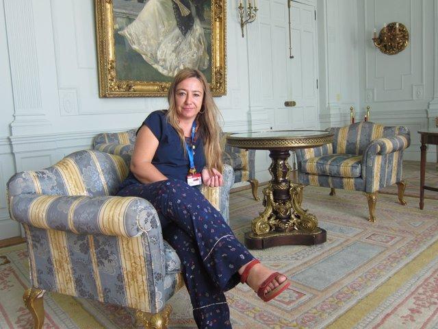 Teletipo Entrevista A La Arqueóloga Myriam Seco