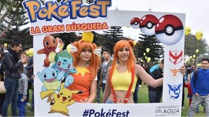 En imágenes: Cientos de jugadores en busca de pokémons en el primer 'Pokéfest' de Perú
