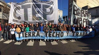 Sindicatos argentinos se unifican para fortalecer sus demandas frente al Gobierno