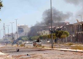 Las tropas leales al gobierno de unidad de Libia avanzan ante Estado Islámico en Sirte