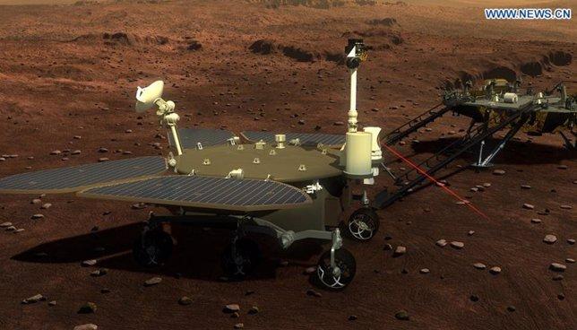 Rover marciano chino