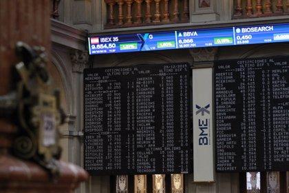 El Ibex 35 cede un 0,65% y cierra al filo de los 8.600 puntos