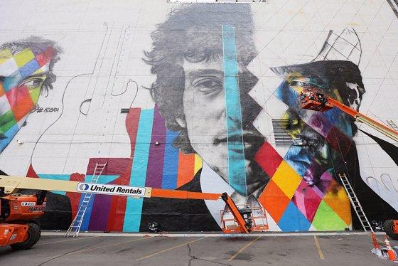 El mural Etnias de Ro 2016 gana un premio rcord Guinness