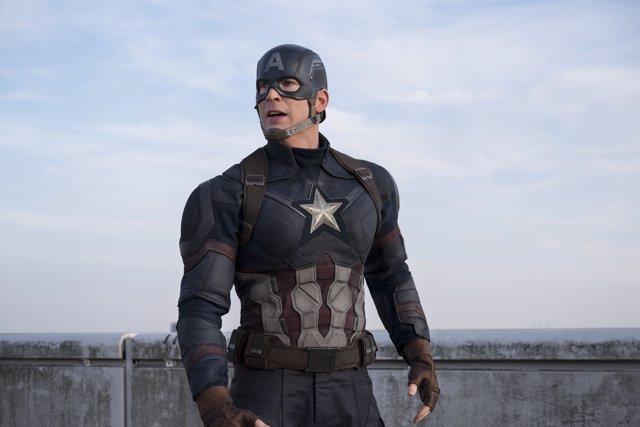 Chris Evans en Capitán América Civil War