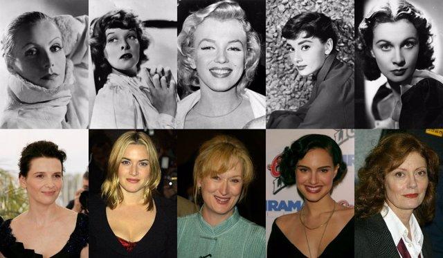 Las 50 mejores actrices de la Historia