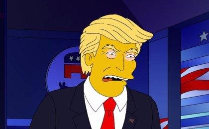 Los Simpson parodiarán otra vez a Donald Trump